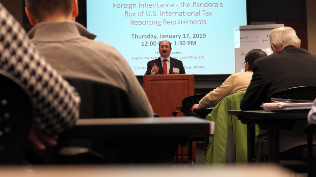 Foreign Inheritance Seminar